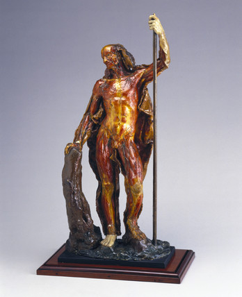 Wax male anatomical figure, Italy, 1740-1780.