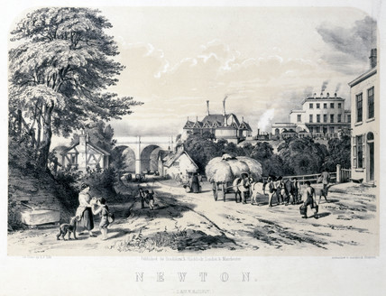 Newton, Cheshire, on the London & North Western Railway, 1848.