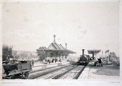 'Pangbourne Station', 1846.