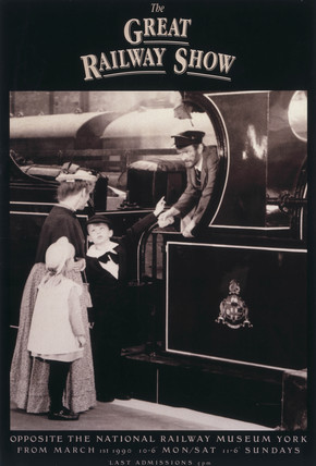 The Great Railway show', NRM poster, 1990.
