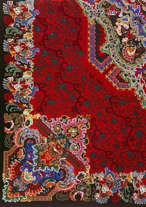 Delft Smyrna carpet, 1876.