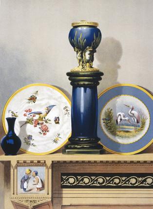 American porcelain, 1876.