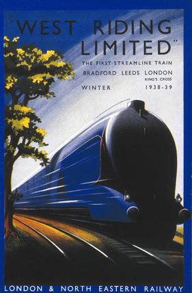 Front cover of 'West Riding Limited', a Lon