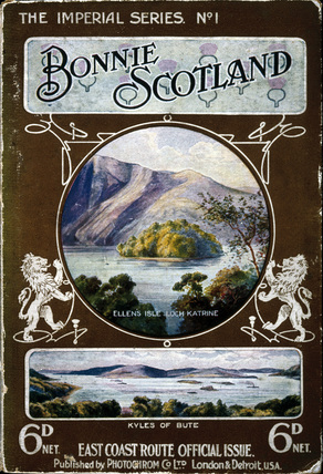 'Bonnie Scotland', North Eastern Railway (NER) guidebook, c 1920s.