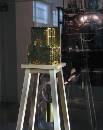 Vulliamy's regulator clock, c 1780.