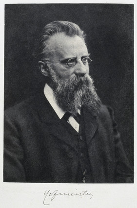 Franz Hofmeister, German physiologist, c 1910s.