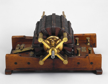 Original Tesla induction motor, 1887-1888.