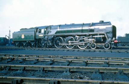 'Britannia' 7P6F clas 4-6-2 steam locomoti