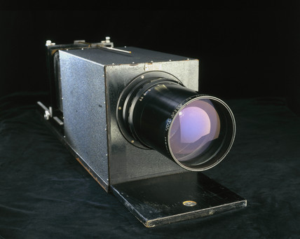 Long extension Gandolfi camera, 1966.