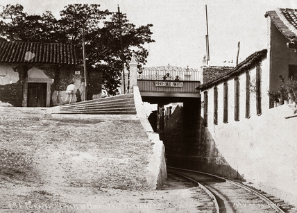 'Puente Emilio Pimentel', a tunnel on the Tehuantepec Railway, Mexico, c 1905.
