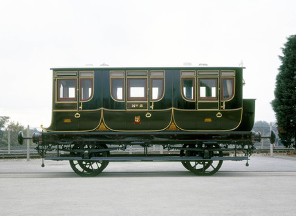 Queen Adelaide's Coach No 2, 1842. This roy