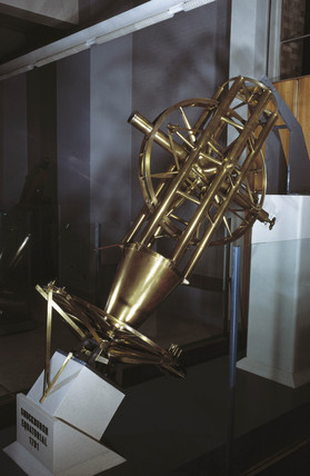 Shuckburgh equatorial refracting telescope, 1791.