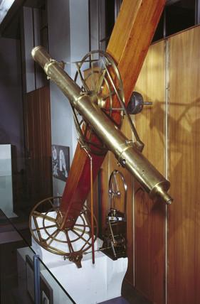 Smyth equatorial refracting telescope, 1829.