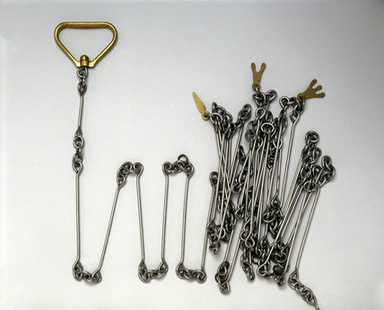 Gunter's chain, 19th century.