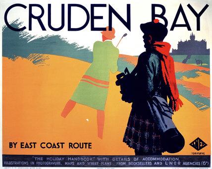 'Cruden Bay', LNER poster, c 1930.