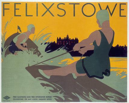 'Felixstowe', LNER poster, 1923-1947.