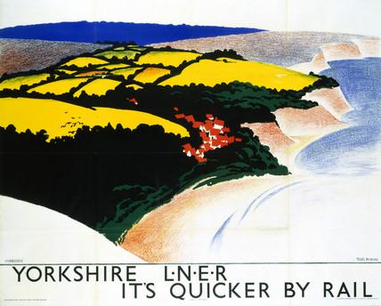 'Yorkshire', LNER poster, 1923-1947.