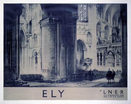 'Ely', LNER poster, 1932.