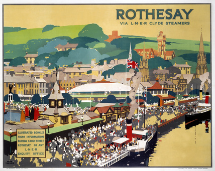 'Rothesay', LNER poster, 1926.
