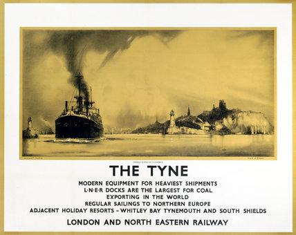 'The Tyne', LNER poster, 1932.