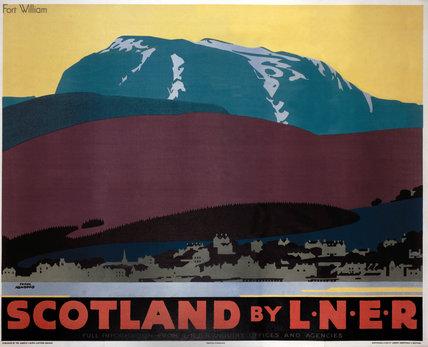 'Scotland by LNER', LNER poster, 1935.