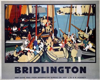 'Bridlington', LNER poster, 1928.