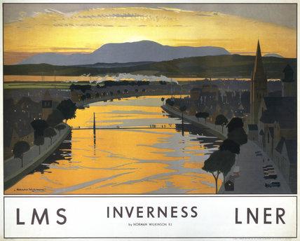 'Inverness', LMS/LNER poster, 1923-1947.