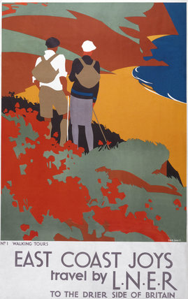 'East Coast Joys', LNER poster, 1931.