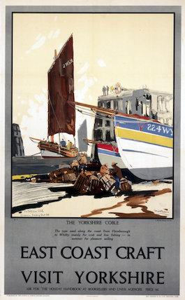 'East Coast Craft', LNER poster, 1923-1947.
