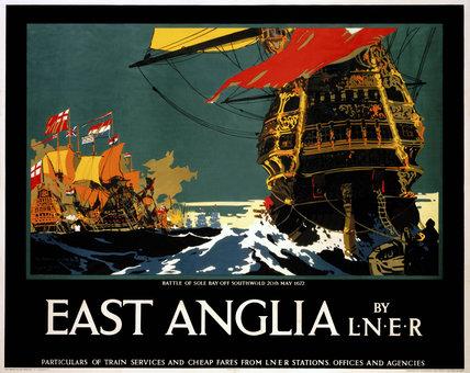 'East Anglia', LNER poster, 1923-1947.