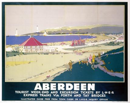 'Aberdeen', LNER poster, 1923-1947.