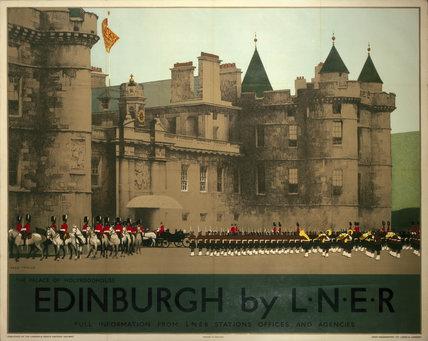 'Holyroodhouse, Edinburgh', LNER poster, 1930.