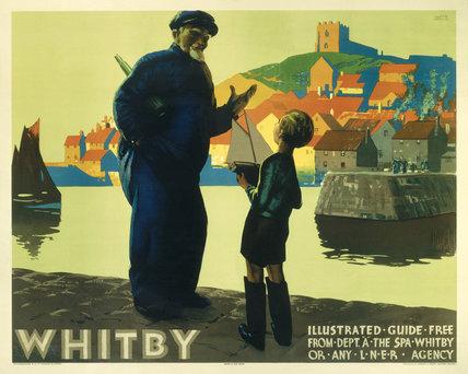 'Whitby', LNER poster, 1923-1947.