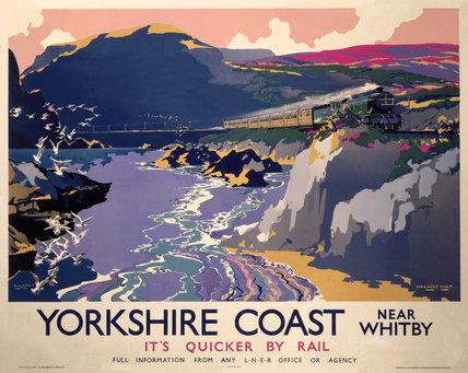 'Yorkshire Coast', LNER poster, 1937.