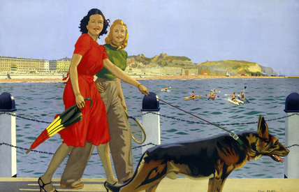 'Hastings', SR poster, 1947.