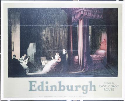 'Edinburgh - Holyrood Palace', LNER poster, 1930.