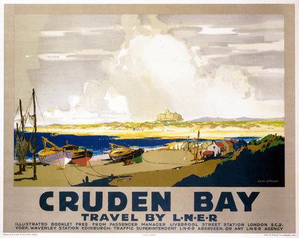 'Cruden Bay', LNER poster, 1928.