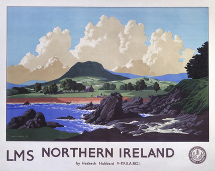 'Northern Ireland', LMS poster, 1944.