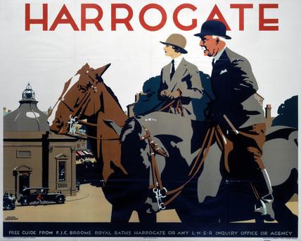 'Harrogate', LNER poster, 1930.