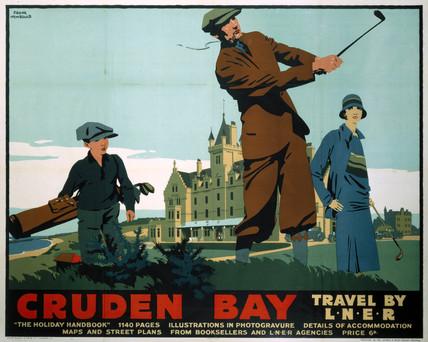 'Cruden Bay', LNER poster, c 1930s.