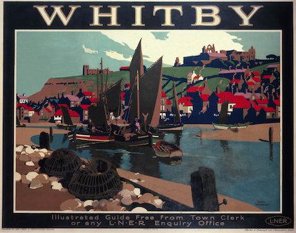 'Whitby', LNER poster, 1930.