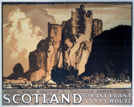 'Scotland', LNER poster, 1932.