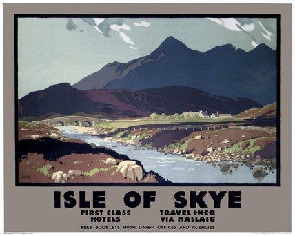 'Isle of Skye', LNER poster, 1923-1947.