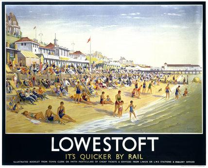 'Lowestoft', LNER poster, 1923-1947.