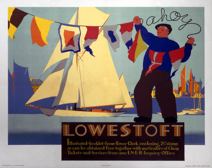 'Lowestoft', LNER poster, 1930.