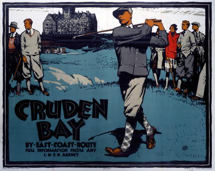 'Cruden Bay', LNER poster, 1923-1947.