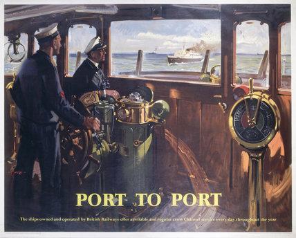 'Port to Port', BR (SR) poster, 1957.