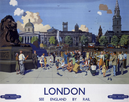 'London', BR poster, 1950s.