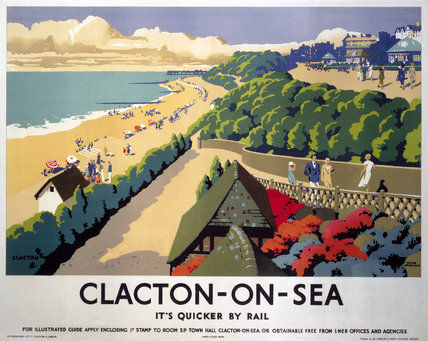 'Clacton-on-Sea', LNER poster, 1935.