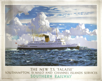 'The New TS Falaise', SR poster, 1947.